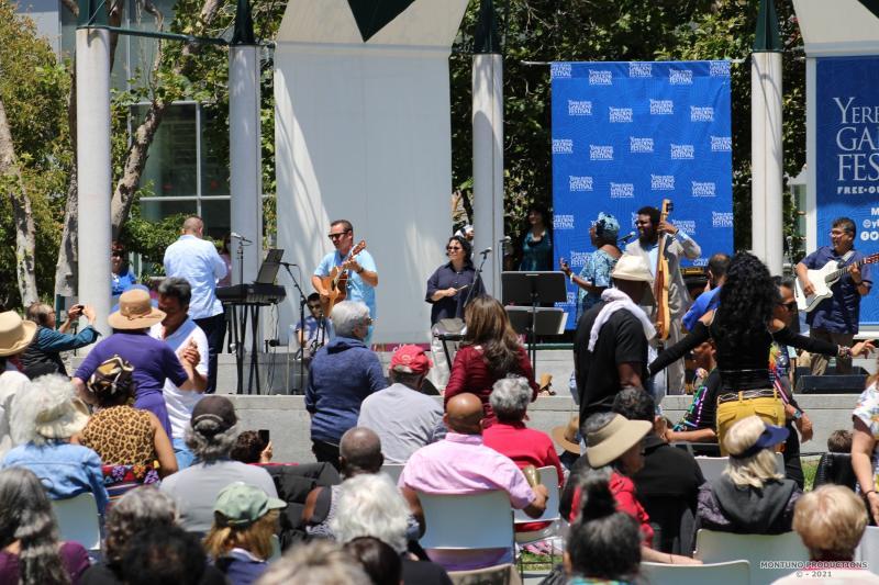 Bobi Céspedes at Yerba Buena Gardens Festival